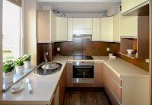 making small kitchen big