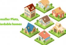 Smaller plots make new homes affordable