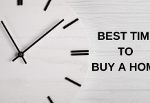 the truth about the best time to buy a home